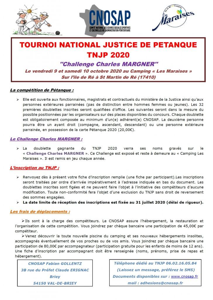 Affiche TNJP 2020